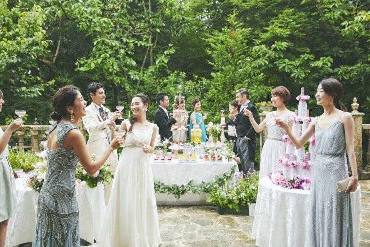 【ゲストと楽しむ♪パーティのみもOK!】 ガーデンパーティ×無料試食×カジュアル婚相談フェア