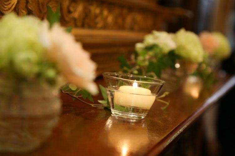 この季節のおすすめアイテム~Candle&Flower~